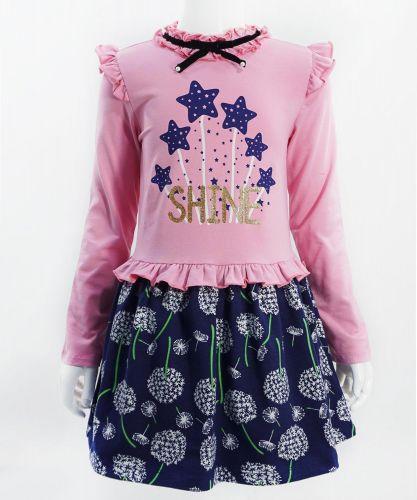 """Платье для девочек Bonito """"Shine"""" розовое"""