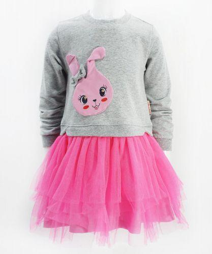 """Платье для девочки Bonito """"Bunny"""" с фатином"""