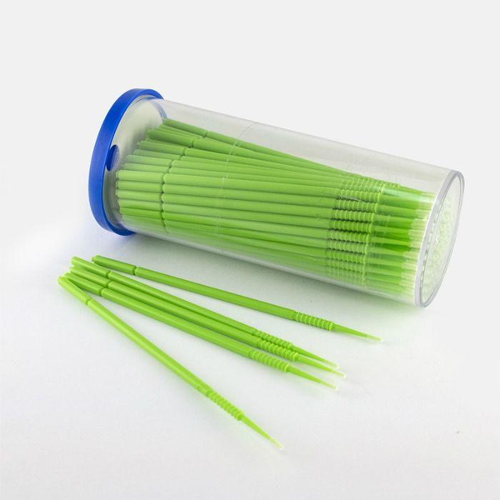 A1 Paint Microbrush аппликатор с кисточкой для сколов, (упаковка 100шт.)