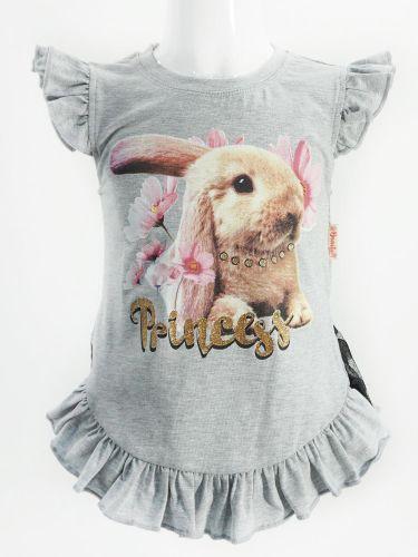 "Туника для девочки Bonito ""Princess"" серая"