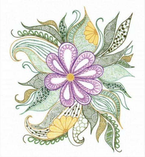 Набор для вышивания крестом Птица удачи №1588 фирма Риолис