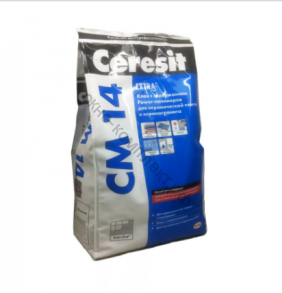 Клей СМ14 Церезит 5 кг для плитки и керамогранита