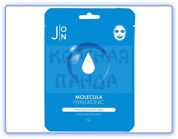 Маска для лица с гиалуроновой кислотой J:ON Molecula Hyaluronic Daily Essence Mask