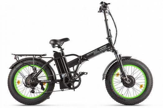 Велогибрид VOLTECO BAD DUAL NEW Черный с салатовым