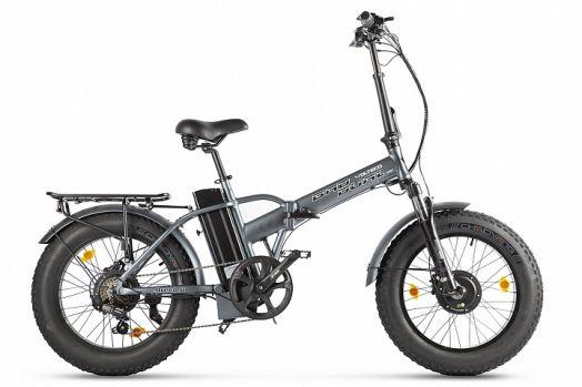 Велогибрид VOLTECO BAD DUAL NEW Серый