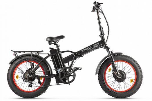 Велогибрид VOLTECO BAD DUAL NEW Черный с красным