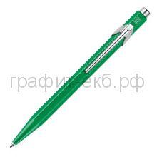 Ручка шариковая Caran d'Ache Office Popline Metal-X зеленый М 849.712