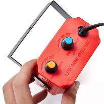 Комнатный мини-стробоскоп Mini Room Strobe 24 LED, красный