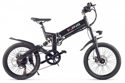 Велогибрид Kjing Power Черный