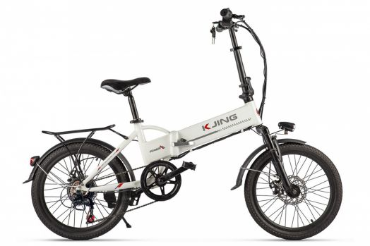 Велогибрид Kjing Spoke Черный