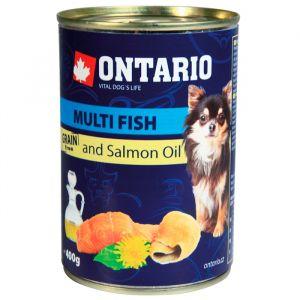 Ontario Консервы для собак: рыбное ассорти