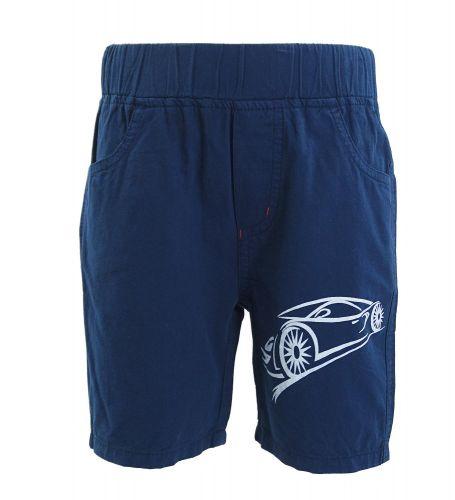 "Шорты для мальчика 6-9 лет Bonito ""Car"" темно-синий"