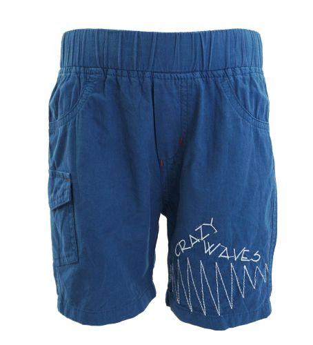 """Шорты для мальчика 2-5 лет Bonito """"Crazy waves"""" синий"""