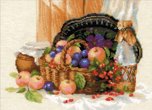 Набор для вышивания крестом Летнее изобилие №1610 фирма Риолис