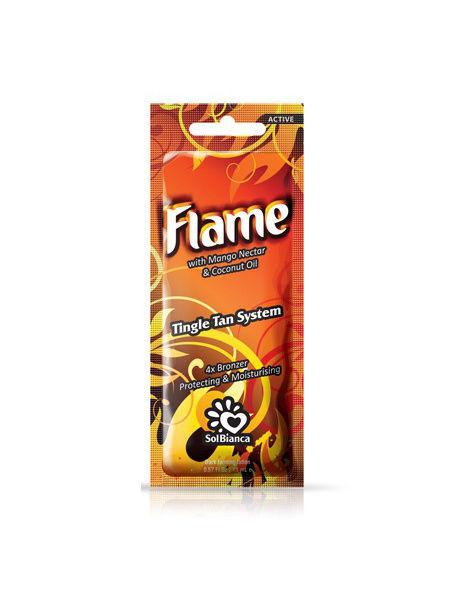 Крем д/солярия Flame Tingle эфф. 4х bronzer, 15 мл. (нектар манго)