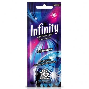 Крем д/солярия Infinity 6х bronzer, 15 мл. (масло кокоса)