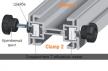 CMT PGC-B2B Соединители направляющих PGC CMT для Т-образных пазов (зажимов) 8 шт
