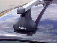 Багажник на крышу Volkswagen Amarok 2010-..., Атлант, прямоугольные дуги