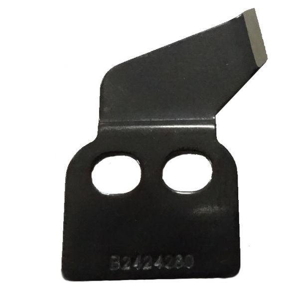 Неподвижный нож JUKI B2424-280-000 (LK-1850/LK-1900/LK-1900A) Super material