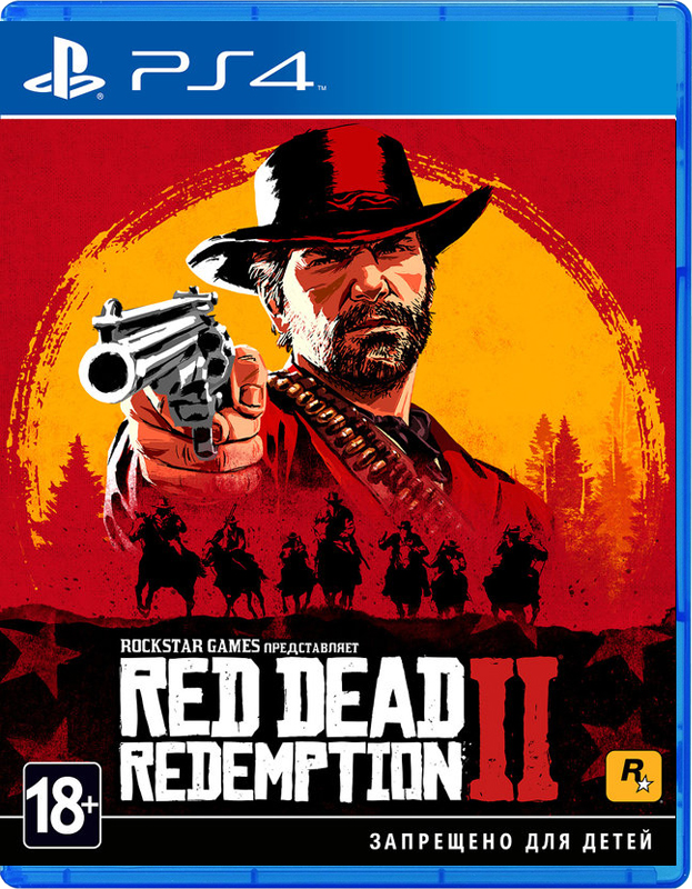 Игра Red Dead Redemption 2 (PS4)