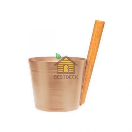 TAMMER-TUKKU Запарник алюминиевый для сауны RENTO, шампань