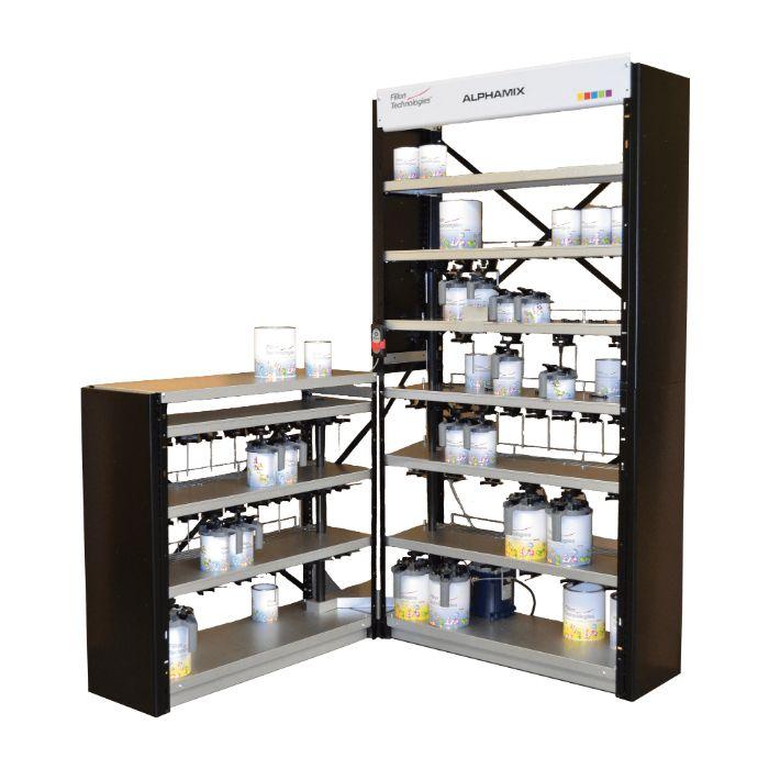 Siro Оборудование для смешивания красок микс Филлон ALPHAMIX 120, 3,5л.