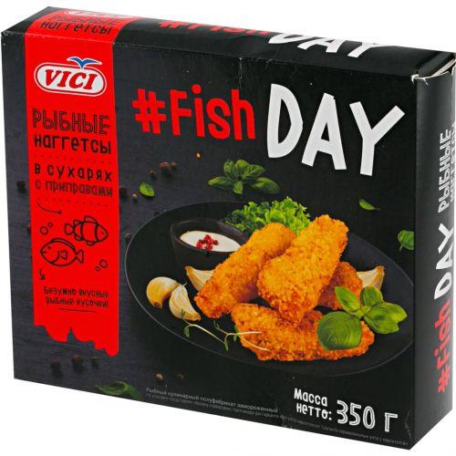Balıq naggetsi 350 gr Fish day Vici