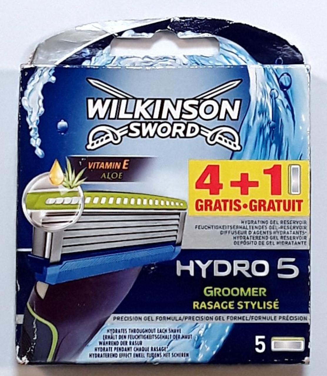 Schick / Wilkinson Sword Hydro5 сменные кассеты (5 штук)