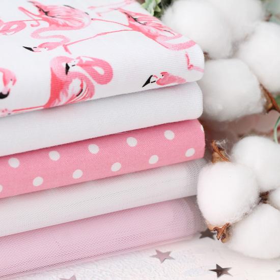 Набор тканей для творчества Удивительный фламинго