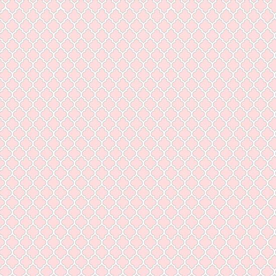 Хлопок Сатин Узор на розовом 50х40