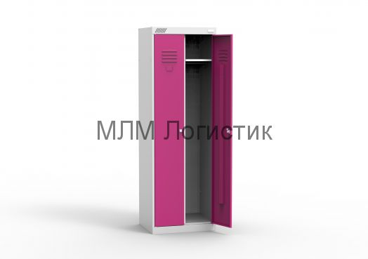Металлические шкафы для одежды серии ШРК-22
