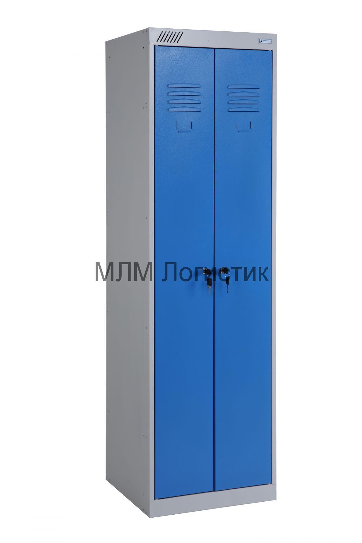 Металлические шкафы для одежды серии ШРЭК-22