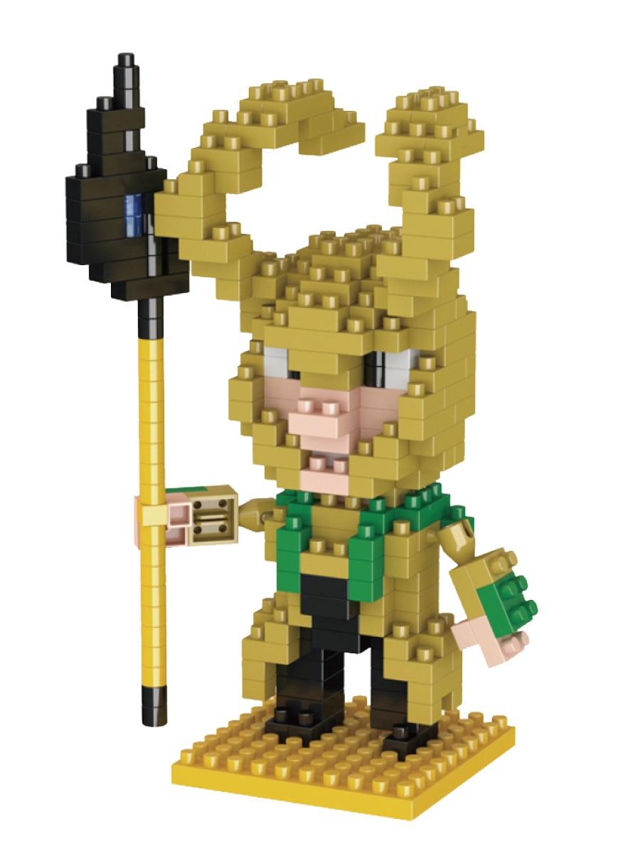 Конструктор Wisehawk & LNO Локи 240 деталей NO. 018 Loki Gift Series