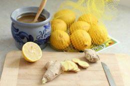 Анти Коронавирус ( лимон 1 шт, имбирь 100 гр, чеснок 1 шт, мед 135 гр, мед. маска  )