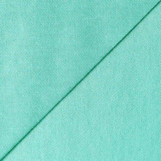 Ткань Хлопок Однотонный зелёный 50x40