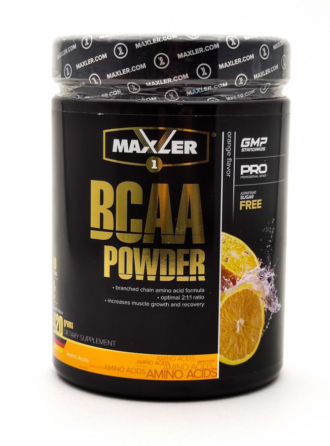Maxler BCAA Powder 420 г (60 порций)