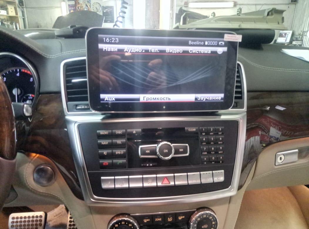 Замена заводского монитора в Mercedes A/B Class 2015-2018г.в.с NTG 5.0/5.1 на монитор ТС-7703 Android