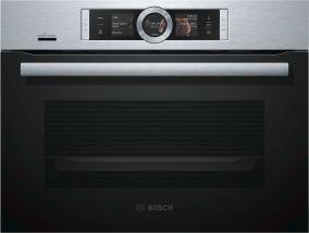 Компактный духовой шкаф с приготовлением на пару Bosch CSG656RS7 Home Connect