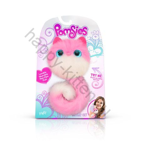 Pomsies Pet Patches розовый