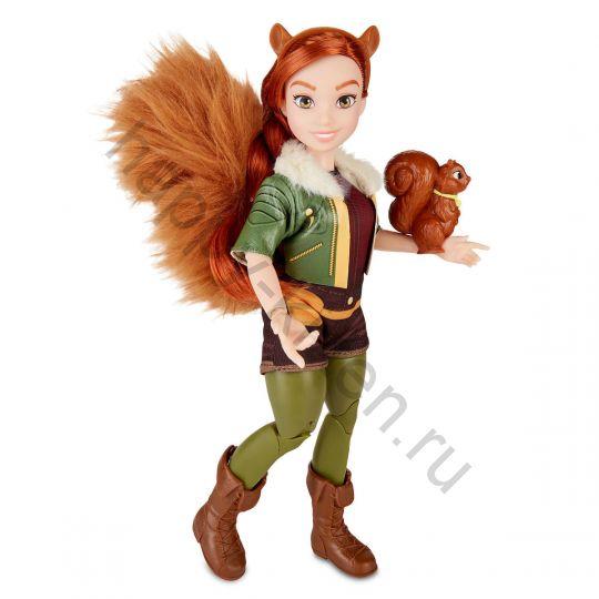 Кукла Девушка - Белка Squirrel Girl