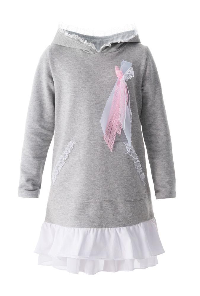Платье для девочки Разноцветные бантики