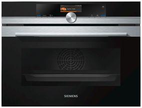 Компактный духовой шкаф с приготовлением на пару Siemens CS636GBS2