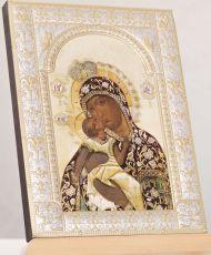 Взыграние Младенца икона Божией Матери (18х24см)