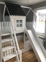 Двухъярусная кровать домик Fantasy №18