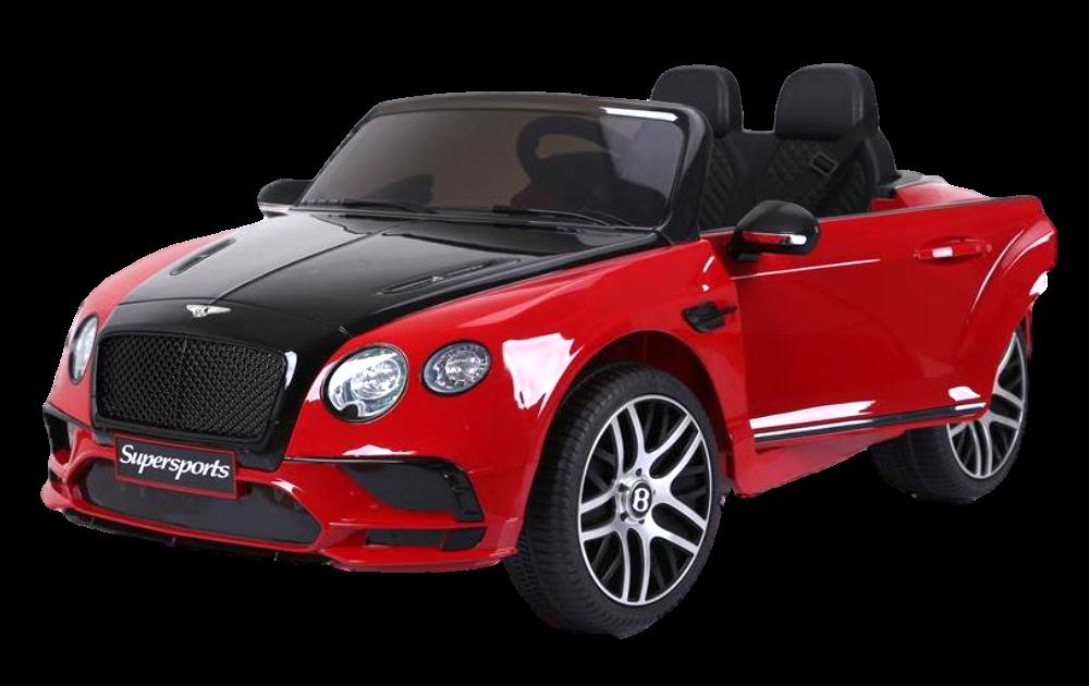 Детский электромобиль (2020) JE1155 (6V, экокожа, EVA) Красный