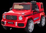 Детский электромобиль (2020) BBH-0003 G63 (12V, колесо EVA, экокожа) Красный