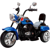 Детский электромобиль (2020) TR1501 (6V, колесо пластик) Синий