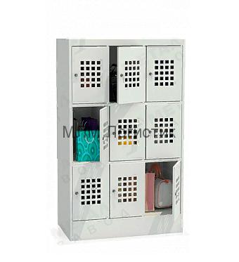 Металлический шкаф для сумок серии ШМ-С1500