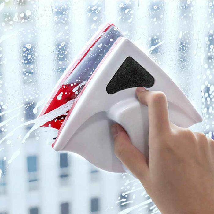 Магнитная щетка для мытья окон Winclean