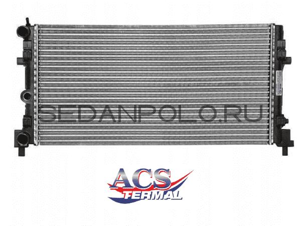 Радиатор системы охлаждения Termal Volkswagen Polo Sedan/Rapid